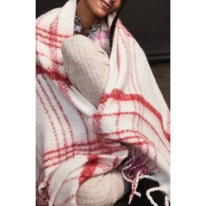 NWT Free People brushed blanket scarf